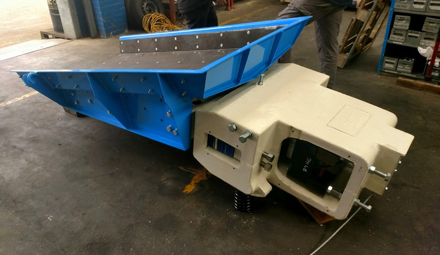To complement their existing plant at Kirkby Thore, British Gypsum recently engaged us to produce and install a complete feeder and hopper assembly for them