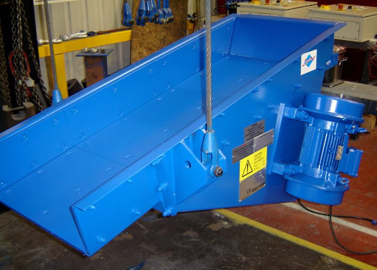 Locker DD Electro Mechanical feeders offer powerful, effective delivery of bulk materials